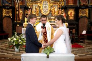 Fotografia ślubna. Ślub kościelny