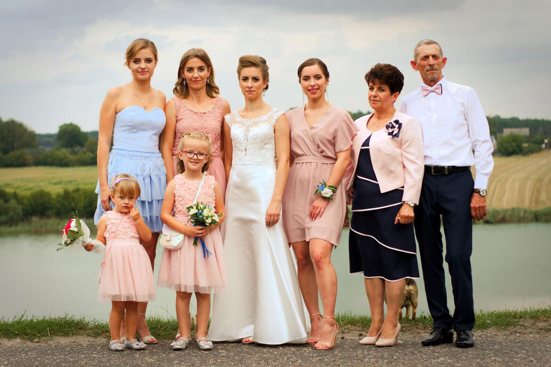 Fotografia Ślubna. Zdjęcie rodzinne