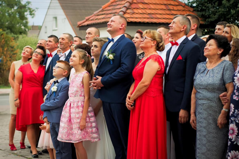 Fotografia Ślubna. Zdjęcie grupowe