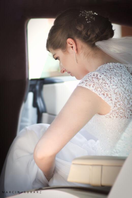 Ślub cywilny oraz kościelny. Panna Młoda