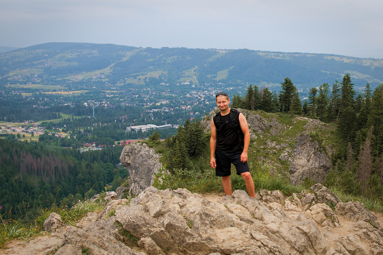Marcin Rurarz w Tatrach