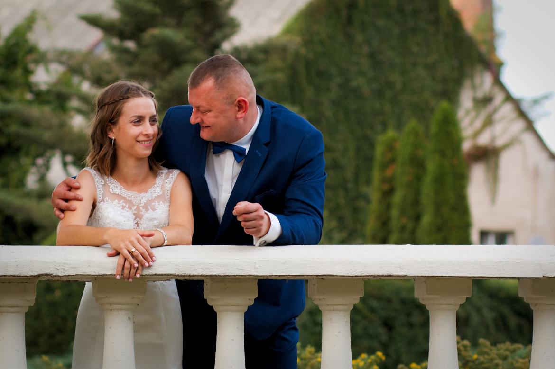 Fotografia ślubna na Zamku Górków w Szamotułach
