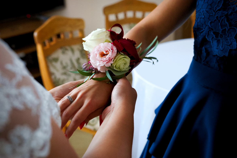 Zdjęcia ślubne. Przygotowania