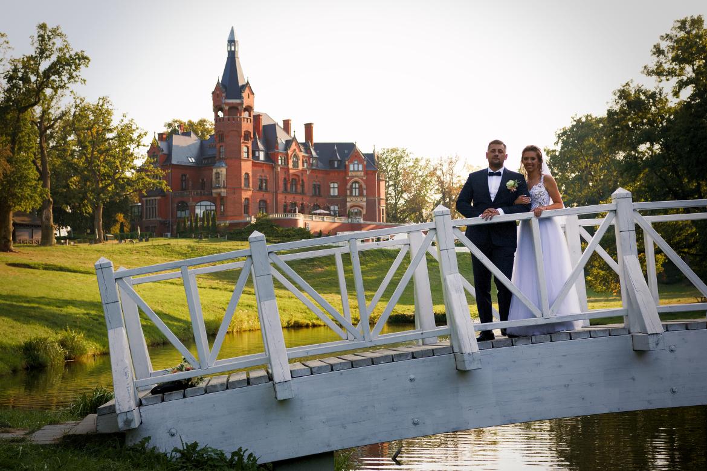 Ślub i wesele. Plener w Pałacu Wąsowo